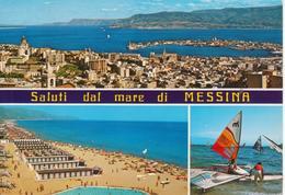 MESSINA - PANORAMA E STABILIMENTI BALNEARI DI MORTELLE - Messina