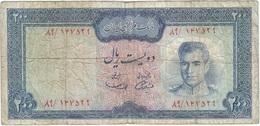 Irán 200 Rials 1971 Pick 92a Ref 1 - Irán