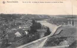 NAMUR-CITADELLE - Vue De La Ville.  La Hampe Du Drapeau Et Confluent De Sambre Et Meuse - Namur