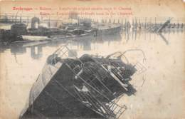 ZEEBRUGGE - Ruines - Torpilleurs Anglais Coulés Dans Le Chenal - Zeebrugge