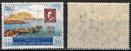 SAN MARINO - 1959 - CENTENARIO DEI PRIMI FRANCOBOLLI DI SICILIA - MNH - Posta Aerea