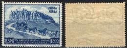 SAN MARINO - 1950 - 75° ANNIVERSARIO DELL'UPU - MNH - Corréo Aéreo
