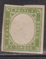 SARDINIA Scott # 10a Mint NO GUM - Sardinia