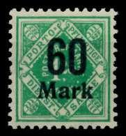 WÜRTTEMBERG DIENST Nr 166 Postfrisch X7110E2 - Wuerttemberg
