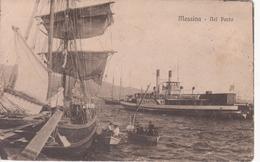 MESSINA - BARCHE NEL PORTO - Messina