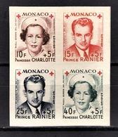 MONACO 1949 SERIE N° 334B A 337B - BLOC NON DENTELLE NEUFS** /5 - Neufs
