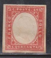 SARDINIA Scott # 13 Mint NO GUM - Sardegna