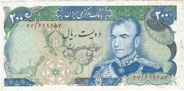Irán Irán 200 Rials 1974 Pick 103a Ref 3 - Irán