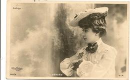 Lucy GERARD   Comédienne Artiste Photo REUTLINGER - Artistes