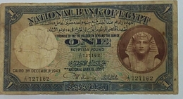 Egypt One Pound Issued Date1943 - Egypte