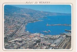 MESSINA - PANORAMA DEL PORTO - Messina