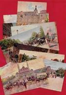 CPA Illustrateur Georges STEIN (Lot De 9) Sur PARIS 75 Monuments Et Rues - Illustrators & Photographers