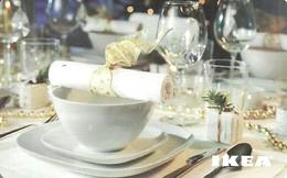 IKEA * FURNITURE STORE * SWEDEN * SWEDISH * GLASS * BOWL * FORK * SPOON * KNIFE * Ikea 2009 11 Fr C * France - Cartes Cadeaux