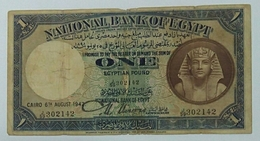 Egypt One Pound Issued Date1942 - Egypte