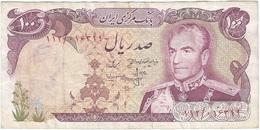 Irán 100 Rials 1974 Pick 102b Ref 5 - Irán