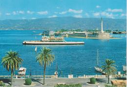 MESSINA - PASSEGGIATA A MARE CON NAVE E BARCHE - Messina