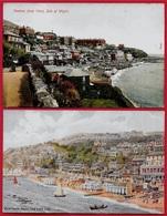 CPA Post Card UK Royaume Uni ISLE OF WIGHT - VENTNOR (Lot De 2) - Ventnor