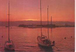 MESSINA - ALBE CON BARCHE - Messina