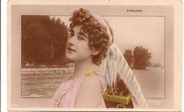EYREAMS Chanteuse Opéra Photo REUTLINGER Sur Fond ANNECY - Artistes