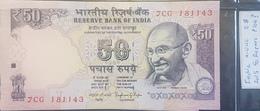 EBN2 - India 2015 Banknote 50 Rupees Pick P104- AUNC - India