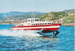 MESSINA - ALISCAFO IN CORSA - Messina