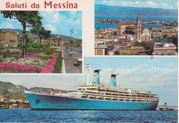 MESSINA - VEDUTINE E NAVE - Messina