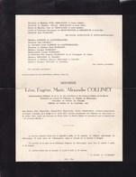 HUCCORGNE DEIGNE Léon COLLINET Administrateur Délégué Des Carrières Et Fours à Chaux De La Meuse 1871-1951 2 Volets Ok - Décès