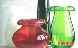 IKEA * FURNITURE STORE * SWEDEN * SWEDISH * VASE * Ikea 2009 12 Fr C * France - Gift Cards