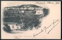 Chateau-Chinon - Vue De La Gare - Viaggiata 1902 - Rif. 20652 - Chinon
