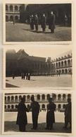 Lot De 5 Photos. Remise De Décorations Aux Invalides. Général De Lattre De Tassigny. Légion D'honneur. Militaria. 1946. - War, Military