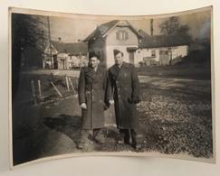 Lot De 5 Photos. Camp De Langenargen. Service Social. Foyer De Garnison. Foyer Du Soldat. Militaires. Militaria. - War, Military