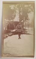 Lot De 3 Photos. Soldats Faisant Du Patinage à Verdun En 1916. Militaires. Militaria. - War, Military