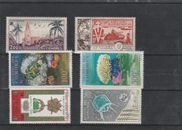 LOT 13 COMORES N°3-4-5-6-13-14 *& ** - Comores (1950-1975)