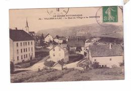 25 VILLERS LE LAC Le Haut Du Village Et Les Brenets  Ramasse De Foin - France