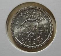 Portugal Macau 1 Pataca 1952 Silver - Portugal