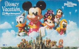 Télécarte Japon / 110-011 - DISNEY - TOKYO DISNEYLAND - VACATION ** Mickey & Donald ** - Japan Phonecard - Disney