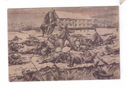 21 DIJON Defense Prise Du Drapeau Allemands Par L'armee Des Vosges General Garibaldi Dessin A .Martin - Dijon