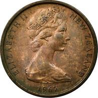 Monnaie, Nouvelle-Zélande, Elizabeth II, Cent, 1967, TB+, Bronze, KM:31.1 - Nouvelle-Zélande