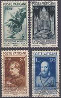 VATICANO - 1936 - Lotto Quattro Valori Usati: Yvert 72, 73, 77 E 78, Come Da Immagine. - Vaticano