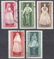 UNGHERIA - 1963 - Lotto Di Cinque Valori Usati: Yvert 1579/1581, 1583 E 1585, Come Da Immagine. - Ungheria