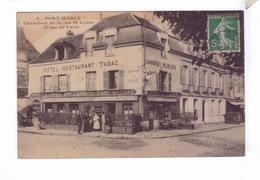 78 PORT MARLY Carrefour De La Rue St Louis Et De Paris Hotel Cafe Restaurant Laporte Personel Ossart - France