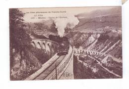 39 MOREZ   Viaduc De L Evalude  Train A Vapeur - Morez
