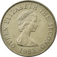 Monnaie, Jersey, Elizabeth II, 5 Pence, 1983, TTB, Copper-nickel, KM:56.1 - Jersey