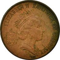 Monnaie, Guernsey, Elizabeth II, 2 Pence, 1988, TTB, Bronze, KM:41 - Guernesey
