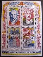 DF50478/28 - 1990 - BICENTENAIRE DE LA REVOLUTION FRANCAISE - BLOC NEUF** N°12 - Blocs & Feuillets