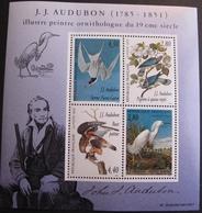 DF50478/32 - 1995 - JJ AUDUBON - BLOC NEUF** N°18 - Blocs & Feuillets