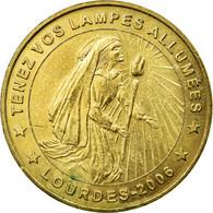 France, Jeton, Jeton Touristique, Lourdes - Tenez Vos Lampes Allumées, 2006 - France