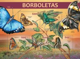 Guinea Bissau 2013 Butterflies - Guinea-Bissau