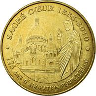 France, Jeton, Jeton Touristique, Paris - Sacré Coeur N°6 - Adoration - France