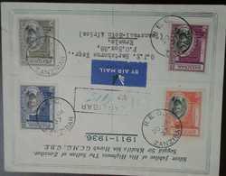 O) 1937 ZANZIBAR, SULTAN KHALIFA BIN HARUB REIGN-SILVER JUBILEE OF HIS HIGHNESS G.C.M.G  G.B.E -SCT 217 50c-SC 215 20C-S - Zanzibar (1963-1968)